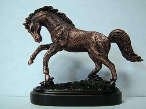 Bronze - Copper Horse Figurine