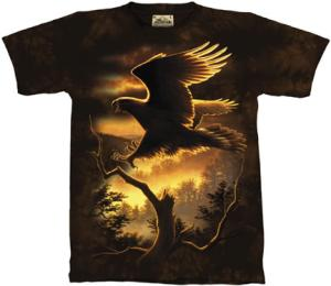 Golden Eagle T Shirt features a Hautman Brothers design