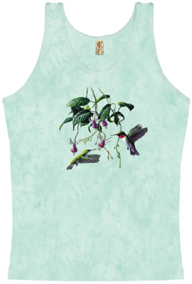 The color on this Hummingbird Tank Top is so soft.