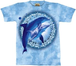 The Mountain's Dolphin Pair Dye T Shirt