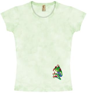 This Frog T Shirt is hand-dyed in the USA.