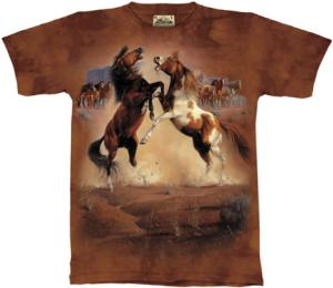 Awesome Wild Horse T Shirt by The Mountain