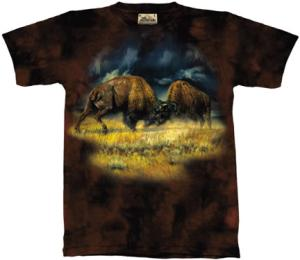 The North American Bison T Shirt.