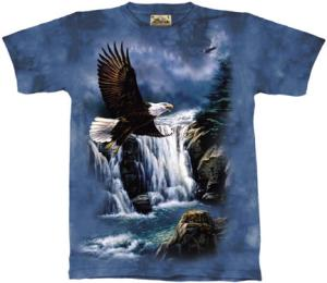 Beautiful Eagle T Shirt by The Mountain