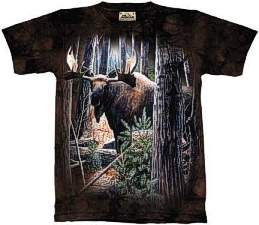 Very Popular Moose T Shirt