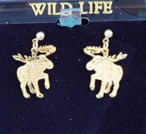 Match up with our Moose necklace for a great gift