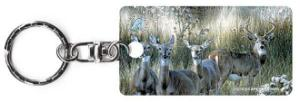 Power and Grace by Carl Brenders wildlife keychain