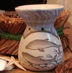View details for this Ceramic Dolphin Aroma Burner