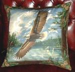 View details for this Eagle Soaring Pillow